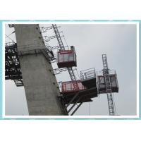 Quality Single Cabin Constrution Man and Material Hoist Building Elevator for sale