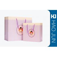 Buy cheap Durable Cardboard Gift Bags / High End Paper Grocery Bags With Handles product
