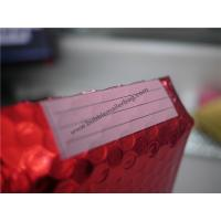 Buy cheap Odorless Red Metallic Bubble Envelopes  , 245x330 #A4 Bubble Wrap Envelopes product