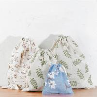 Buy cheap Travel Storage Bag Reusable Cute Pattern Printed Drawstring Backpack Bag product
