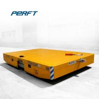 Buy cheap Customized 1-300t industrial Material Handling Battery Drive Transfer Trolley from wholesalers