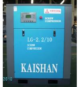 High efficiency small screw air compressor PLC controlled 1.0mpa 10 bar 145psi