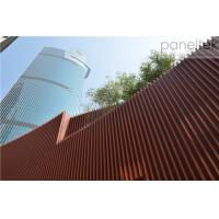 Buy cheap Terracotta Architectural Facade Systems panels and baguette easy installation new trendy material product