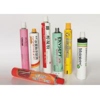 Buy cheap Soft Empty Toothpaste Tubes , Colorful  Hand Cream Empty Aluminum Tubes product