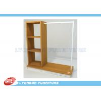 Buy cheap ISO Multi Functional Clothing Display Racks For Store , MDF Display Shelving from wholesalers