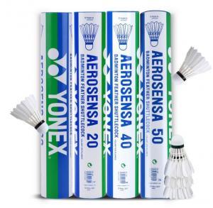 Buy cheap Yonex badminton shuttlecock goose feather shuttlecocks aerosensa 50 AS-50 from wholesalers