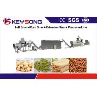 Buy cheap Industrial Puffed Corn Snack Food Making Machine Stainless Steel Food Extruder product