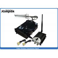 90KM LOS Long Range Wireless Video Transmitter 10W Wireless Video Sender CCTV