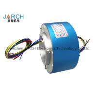 Lead free100mm through bore electrical slip ring / miniature slip ring Max speed:500RPM
