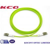 Buy cheap LC-LC Duplex Multimode Fiber Optic Patch Cord 0.35dB Insertion Loss With from wholesalers