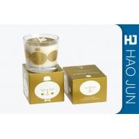 Buy cheap Retail Luxury Candle Box Candle Tube Packaging With Bio - Degradable Materials product