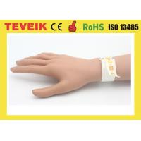 Buy cheap Waterproof Rfid Smart Bracelet Printable Medical Wristband For Hospital Patient Id Tracking product