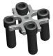 Steel Body Centrifuga De Gerber / Milk Centrifuge Machine BT8 For Laboratory