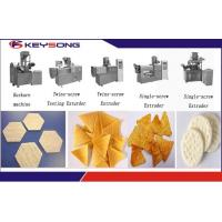 Buy cheap Puff Snacks Doritos Making Machine / Corn Flakes Processing Line Steady Performance product