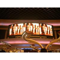 Buy cheap Indoor Rubber P3 Flexible Led Screens / Round Curved Led Display Rental Show Advertising from wholesalers