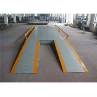 Buy cheap Concrete 80 Ton Electronic Lorry Weighbridge 220 - 300mm Channel Beam product