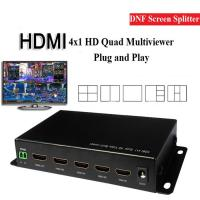 Images of High Performance Cctv Quad Multiplexer , 4 Channel Hdmi