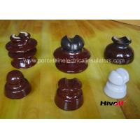 Buy cheap 11kV And Below Porcelain Pin Type Insulators With Porcelain Thread product