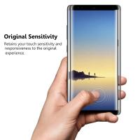 Full Cover Oil Resistant Screen Protector , Galaxy Note 8 Tempered Glass Screen Protector