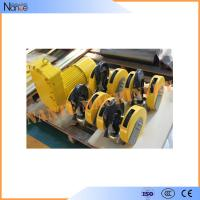 Steel Electric Wire Rope Hoist Monorail Hoist Trolley With CE Certified