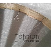 """Buy cheap 12"""" Welded Marble Cutting Blade with J Slot for Continous Smooth Cutting No Chipping from wholesalers"""
