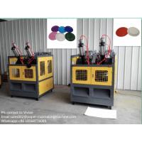 Buy cheap Two Stations Paper Plate Forming Machine , Paper Plates Making Machine from wholesalers