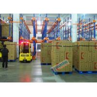 Buy cheap Warehouse Automated Radio Shuttle Racking Cold Supply Chain Pallet Shuttle System product