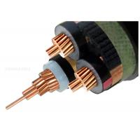 Buy cheap 19/33KV Three Core Screened High Voltage XLPE Insulated Cable 3x300SQMM from wholesalers