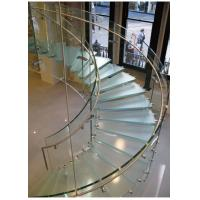 Curved Tempered Safety Glass FOR Railing , Architecture , Furniture