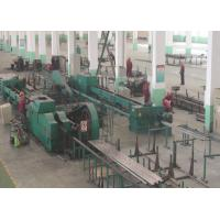 Metal Pipe 3 Roll Mill / Rolling Mill Machinery 55KW With Carbon Steel 80 m / Min