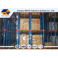 Factory Warehouse Storage Drive In Pallet Racking With Corrosion Protection