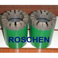 HTW Diamond Core Drill Bits For Soft To Hardness Rock Formation Exploration Core Drilling