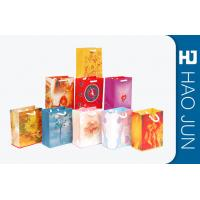 Buy cheap Custom Business Shopping Bags / Cardboard Packaging Gift Bags Cardboard Color product
