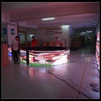Buy cheap Curved Billboard Advertising LED Display Screen , 6500 Nits Full Color Video Wall product