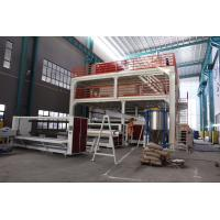 Buy cheap 4200mm Wide Nonwoven Fabric Making Machine , PP Spunbond Non Woven Production Line from wholesalers