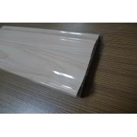 9 CM High PVC Skirting Board Covers Plastic Glossy Symmetrical Design