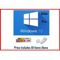 Buy cheap OEM Software Windows 10 Pro Retail Box For PC Or Tablet / COA License Sticker from wholesalers