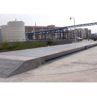 Buy cheap 3x25m Size Electronic Lorry Weighbridge Large Screen Display With Steel Ramps product