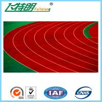 Self - knot Pattern Rubber Running Track 13MM Outdoor Athletics Track Rubberized Flooring