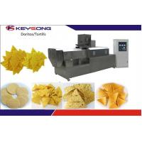Buy cheap 200 - 260kg / H Industrial Tortilla Maker , Stainless Steel Doritos Corn Chips Production Line product