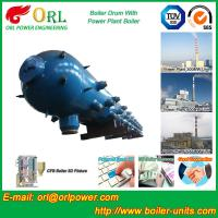 New steam boiler 50 ton stainless steel petroleum industry boiler spare part mud drum