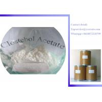 Buy cheap Raw Steroid Powders 4-Chlorotestosterone Acetate Clostebol Acetate Turinabol CAS:855-19-6 product