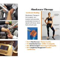 Buy cheap Physiotherapy Equipments 22Hz Frequency  Shockwave Therapy Machine Knee Pain Relief product