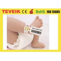 Buy cheap Medical Rfid Wristband For Baby Identification with factory price for large order product