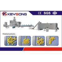 Buy cheap Pasta Macaroni Snack Food Production Line , Industrial Food Processing Equipment product