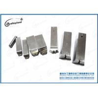 Metal Alloy Gray Tungsten Carbide Nail Dies Impact Resistant For Producing Nails