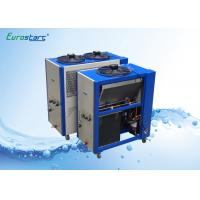 Energy Saving Commercial Cooling Water Chiller Units Hermetic Type Compressor