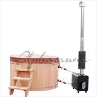 Buy cheap 1800*900MM Japanese soaking Hot Tub Bath Barrels , durable cedar sauna kit product