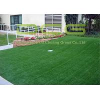 PE Material Artificial Turf Grass / Synthetic Grass Lawn With SGS Certificate