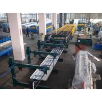 Thin Type Roof Panel Roll Forming Machine , Corrugated Sheet Making Machine Normal Speed